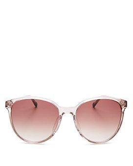 Le Specs Luxe - Women's Elan Vital Round Sunglasses, 58mm