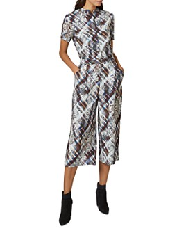 Ted Baker - Balay Quartz and Plaid Print Jumpsuit