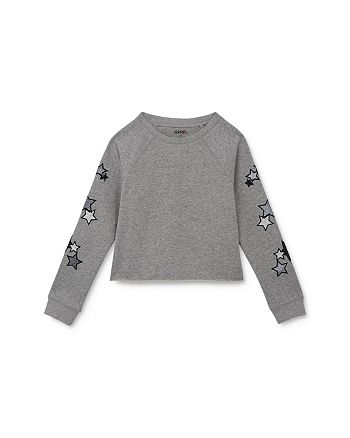 Hudson - Girls' Star Sweatshirt - Little Kid