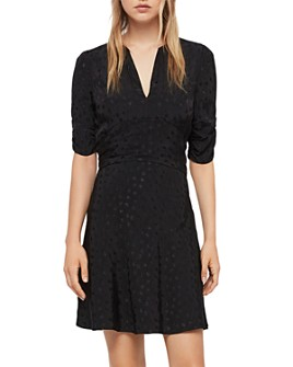 ALLSAINTS - Avery Floral Jacquard Dress
