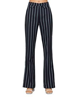 BCBGENERATION - Striped Flared Pants