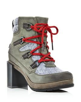 Sorel - Women's Blake Waterproof Block-Heel Booties