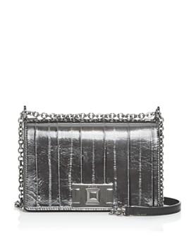 Furla - Mimi Mini Embossed Leather Convertible Crossbody