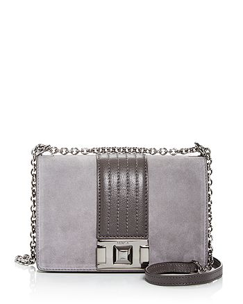 Furla - Mimi Mini Suede Convertible Crossbody