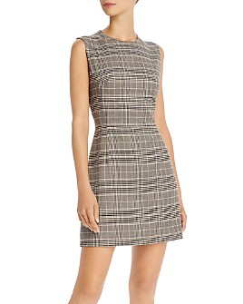 FRENCH CONNECTION - Amati Check Mini Dress