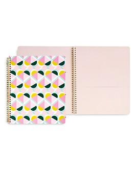 kate spade new york - Geo Spade Large Spiral Notebook