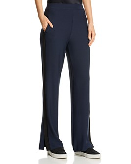 Lyssé - Dorsey Side-Stripe Wide-Leg Pants