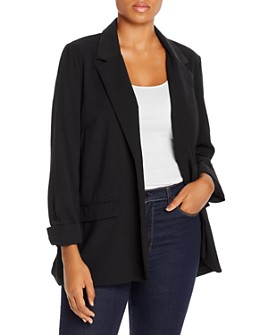 B Collection by Bobeau Curvy - Teri Classic Blazer
