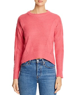 Design History - Mixed-Rib High/Low Sweater