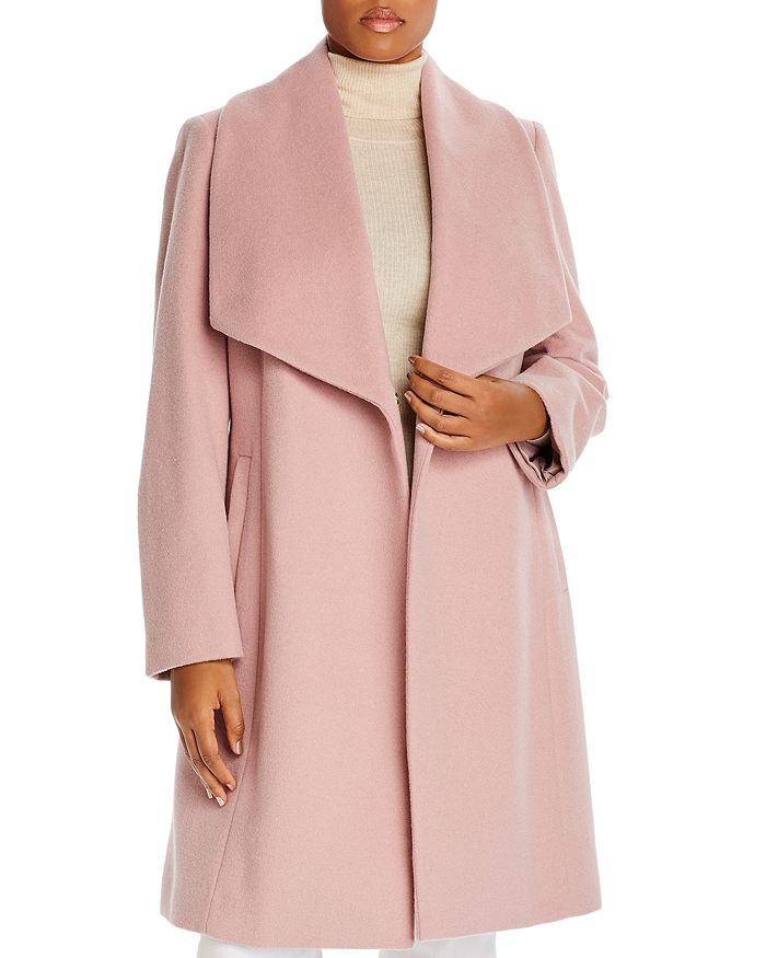 Cole Haan Plus - Wrap Coat