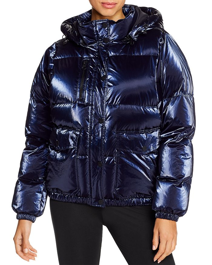 Blanc Noir - Hooded Down Puffer Jacket