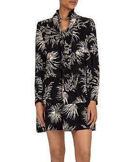 ba&sh - Eugenie Tie-Neck Shift Dress