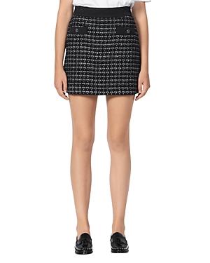 Sandro Gioli Tweed Mini Skirt