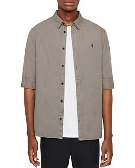 ALLSAINTS - Redondo Half-Sleeve Button-Down Shirt