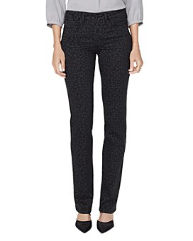 NYDJ - Marilyn Straight-Leg Jeans in Whisper Cat