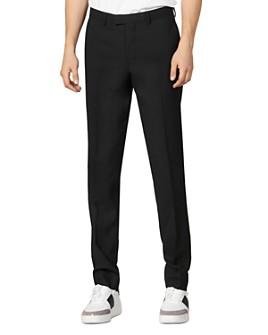 Sandro - Travel Slim Fit Suit Pants