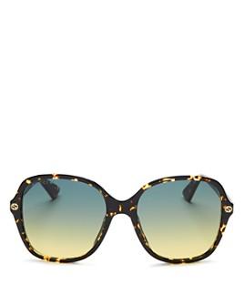Gucci - Women's Female Square Sunglasses, 55mm