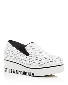 Stella McCartney - Women's Binx Slip-On Platform Wedge Sneakers
