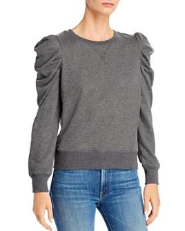 Rebecca Minkoff - Janine Pleated-Shoulder Sweatshirt