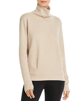 Alo Yoga - Clarity Fleece Turtleneck Top