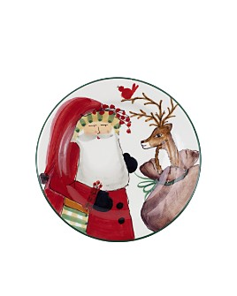 VIETRI - Old St. Nick 2019 Limited Edition Salad Plate