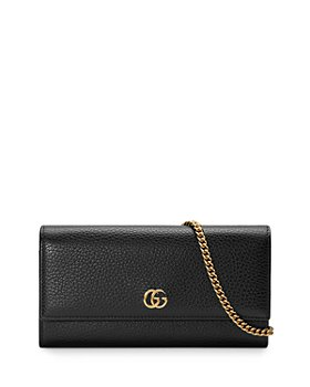 Gucci - GG Marmont Leather Chain Wallet