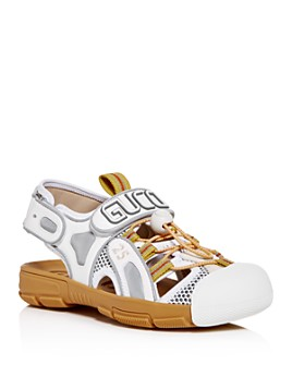 Gucci - Women's Crystal-Embellished Slingback Sandals