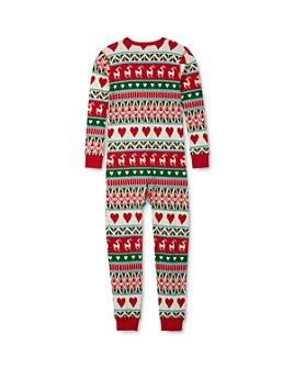 Hatley - Unisex Fair Isle Tee & Fair Isle Pants Pajama Set - Little Kid, Big Kid