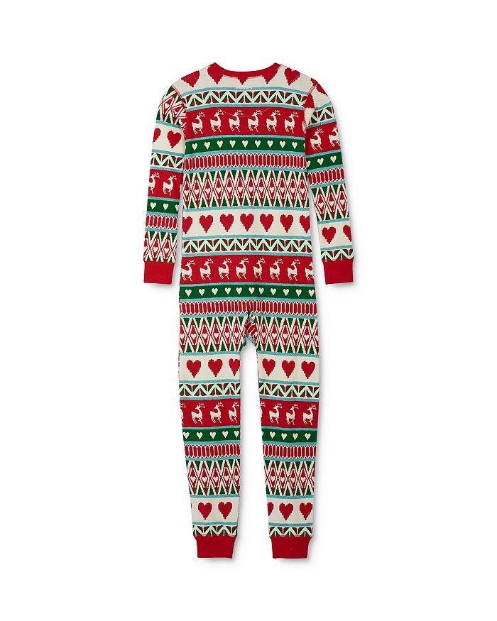 Hatley - Unisex Fair Isle Tee & Fair Isle Pants Pajama Set - Little Kid, Big Kid
