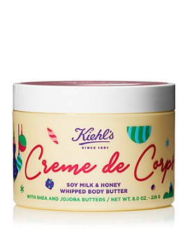 Kiehl's Since 1851 - Limited Edition Creme de Corps Soy Milk & Honey Whipped Body Butter 8 oz.