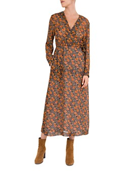 Gerard Darel - Dena Floral-Print Midi Dress