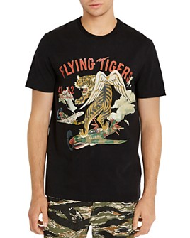 Avirex - Flying Tiger Logo Graphic Tee