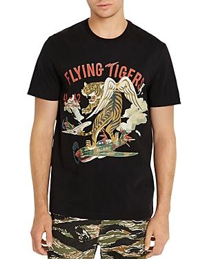 Avirex Flying Tiger Logo Graphic Tee