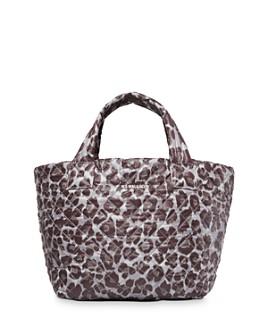 MZ WALLACE - Leopard-Print Small Metro Tote
