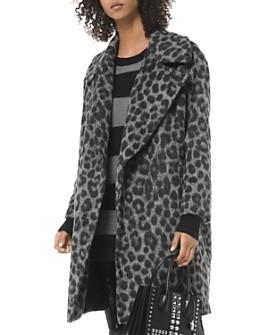 MICHAEL Michael Kors - Leopard Jacquard Coat
