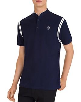 The Kooples - Contrast-Stripe Piqué Regular Fit Polo Shirt