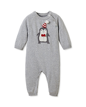 Elegant Baby Boys' Knit Penguin Coverall - Baby