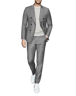 REISS - Woking Flannel Slim Fit Suit