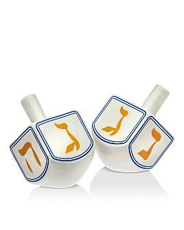 Godinger - Dreidel Salt & Pepper Shaker Set