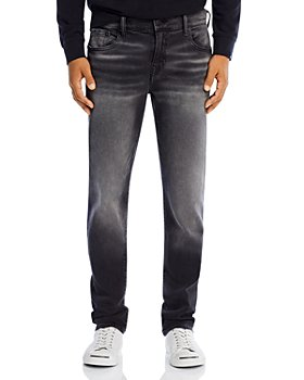 True Religion - Rocco No Flap Slim Fit Jeans in Antimatter