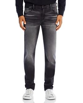 True Religion - Rocco No Flap Slim Fit Jeans in Antimatter