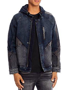 True Religion - Dylan Hooded Denim Jacket
