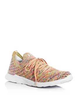 APL Athletic Propulsion Labs - Women's Techloom Wave Lace-Up Knit Sneakers