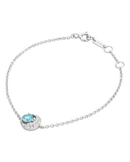 Lightbox Jewelry - Blue Moon Lab-Grown Diamond Bracelet in Sterling Silver