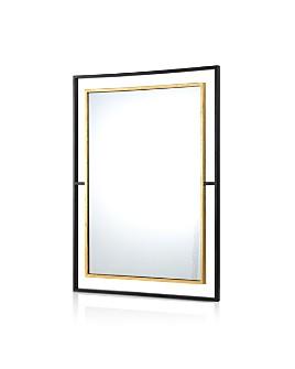 Ren-Wil - Gray Mirror In Black & Gold