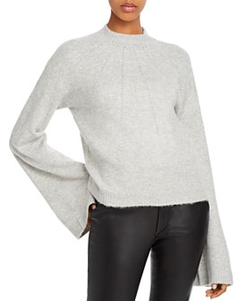 GUESS - Studded Bell-Sleeve Sweater