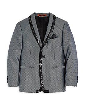 Tallia - Boys' Diamond Pattern Sport Jacket - Big Kid