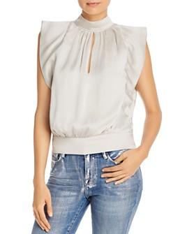 FRAME - Hammered Silk Sleeveless Top