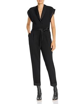 FRAME - Tuxedo Jumpsuit