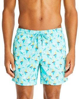 Vilebrequin - Boats on Water Swim Trunks